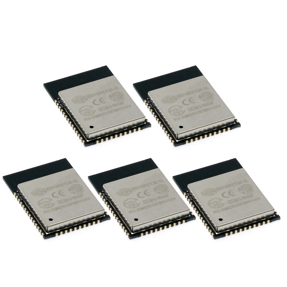 ThingMatic 5-er Set ESP32 Modul, Dual Core, 32 Mbits SPI