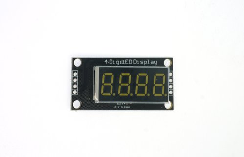 ThingMatic 7 Segment Anzeige 0,36 Zoll 4 Bits LED Display Modul TM 1637 für Arduino